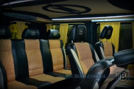 Tuning Internal The conversion of minibuses, buses, saloon car into a van